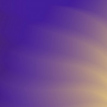 Abstract purple and orange blurred gradient background with ligh