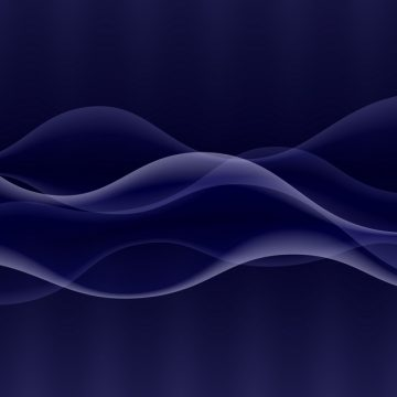 Vector abstract digital wave design element. Sound waves with a